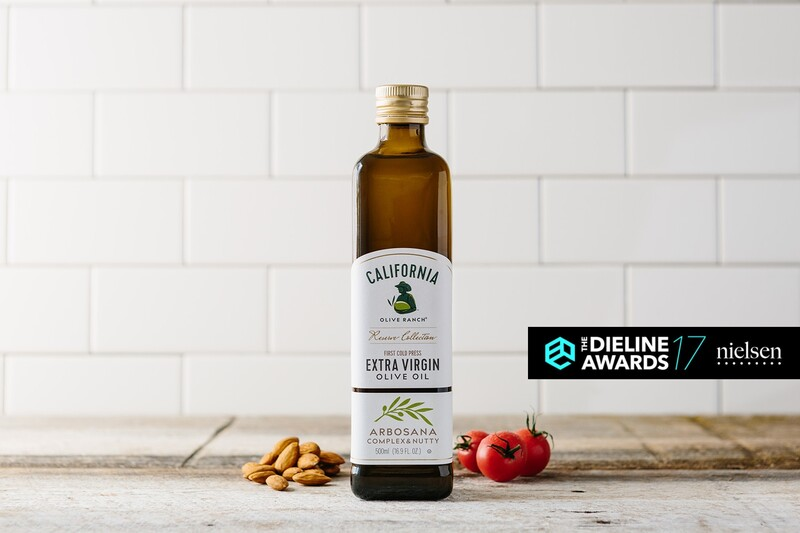 California olive ranch reserve olive oil packaging design nielsen the dieline1 2x
