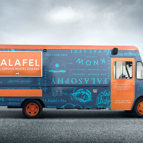 Falasophy falafel food truck wrap design california17 2x