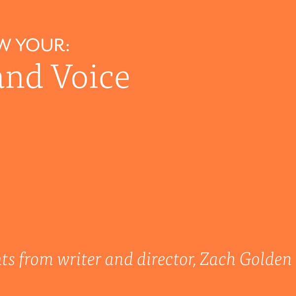 Brand voice copywriting brand strategy 2x