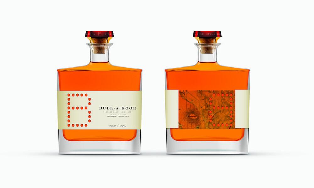 Bullarook whiskey package design
