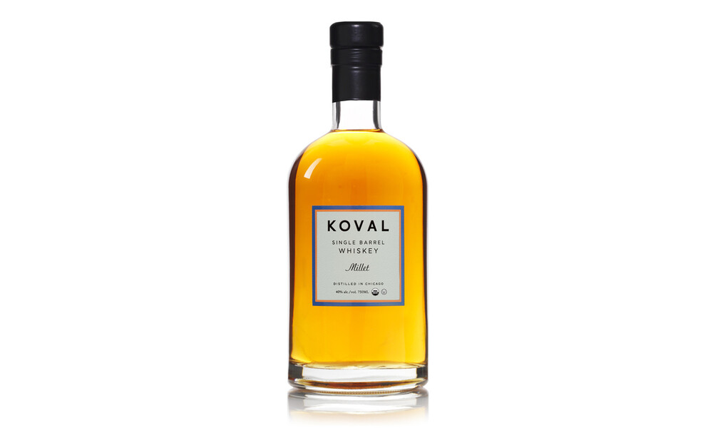 Koval whiskey package design