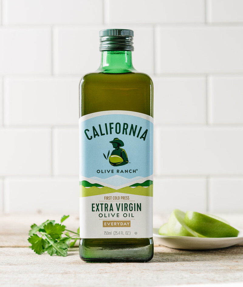 California olive ranch olive oil packaging design hm