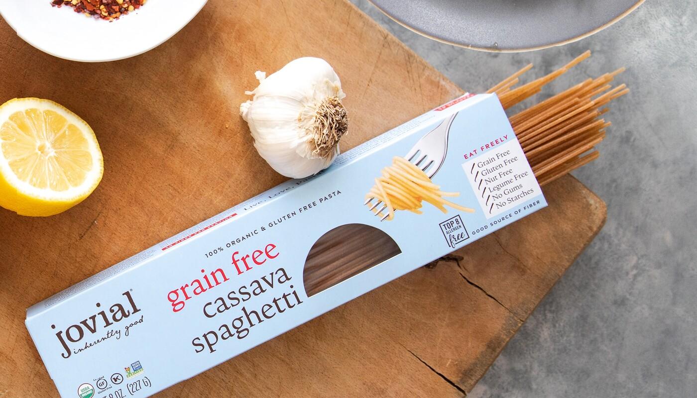 Jovial foods pasta packaging cassava line extension1
