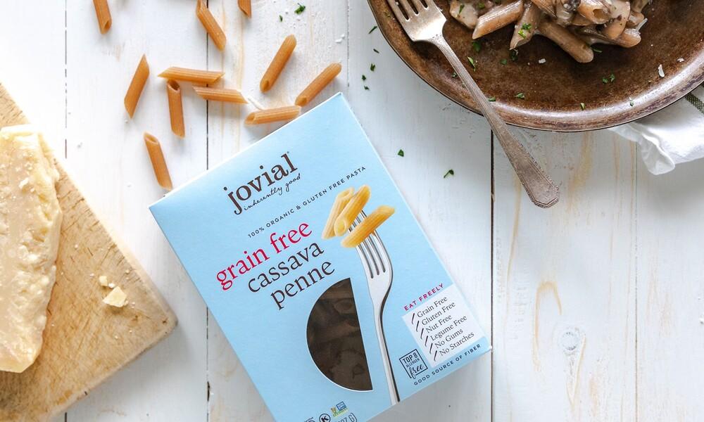 Jovial foods pasta packaging cassava line extension6