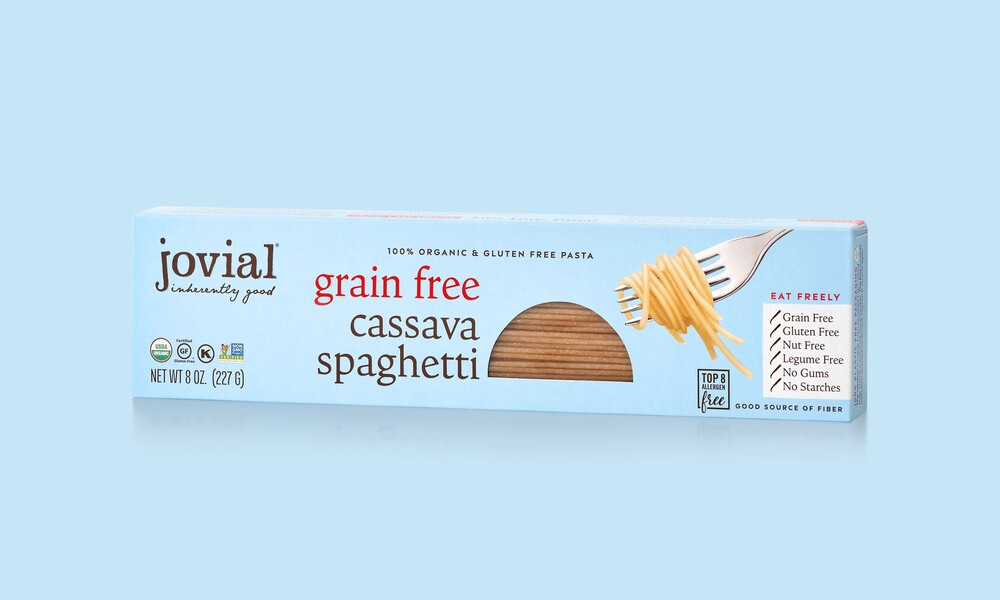 Jovial foods pasta packaging cassava line extension8