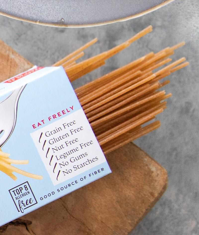 Jovial foods pasta packaging cassava line extension10