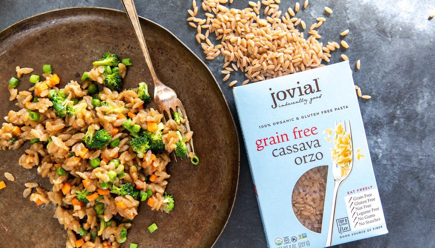 Jovial foods pasta packaging cassava line extension12