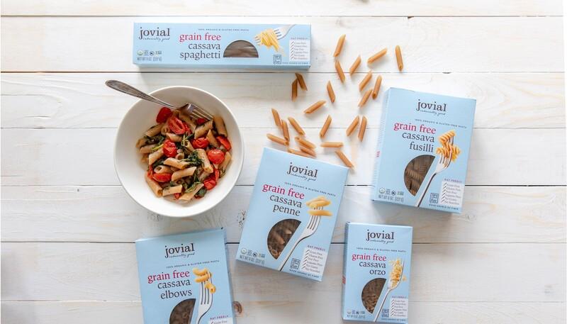 Jovial foods pasta packaging cassava line extension14