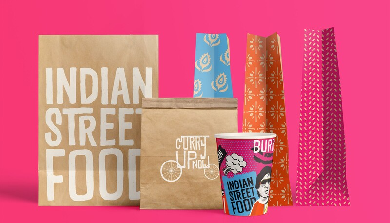 Curryupnow indian food qsr restaurant branding packaging15
