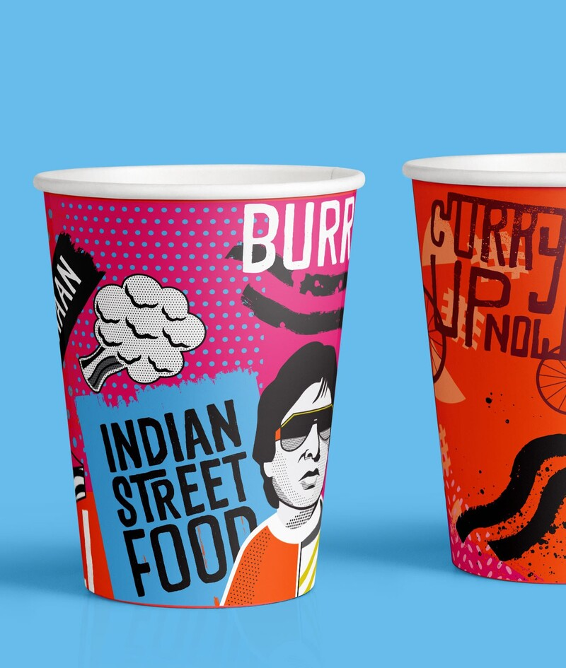 Curryupnow indian food qsr restaurant branding packaging20