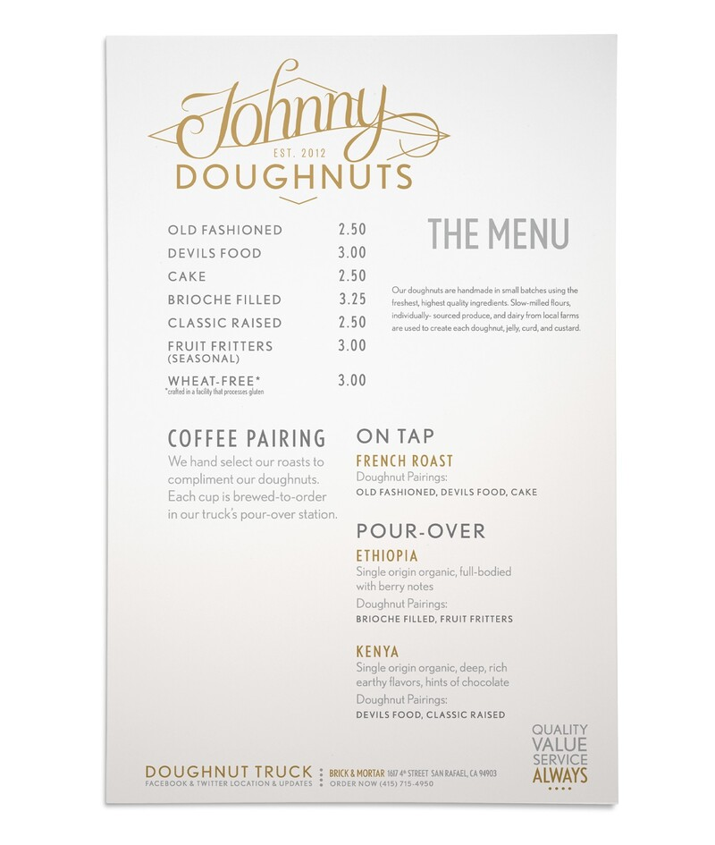 Johnny doughnuts branding identity quick serve restaurant26