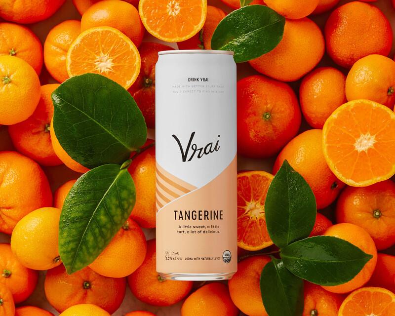 Vrai vodka cocktail spiritis packaging design branding thumb