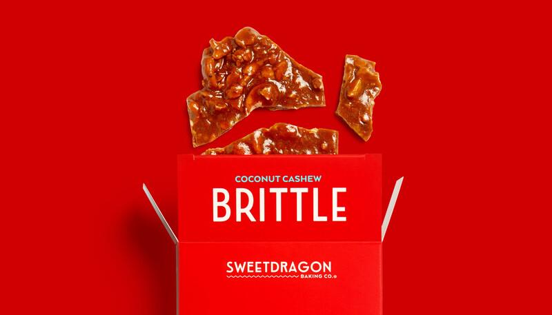 Sweet dragon baking candy packaging design branding15