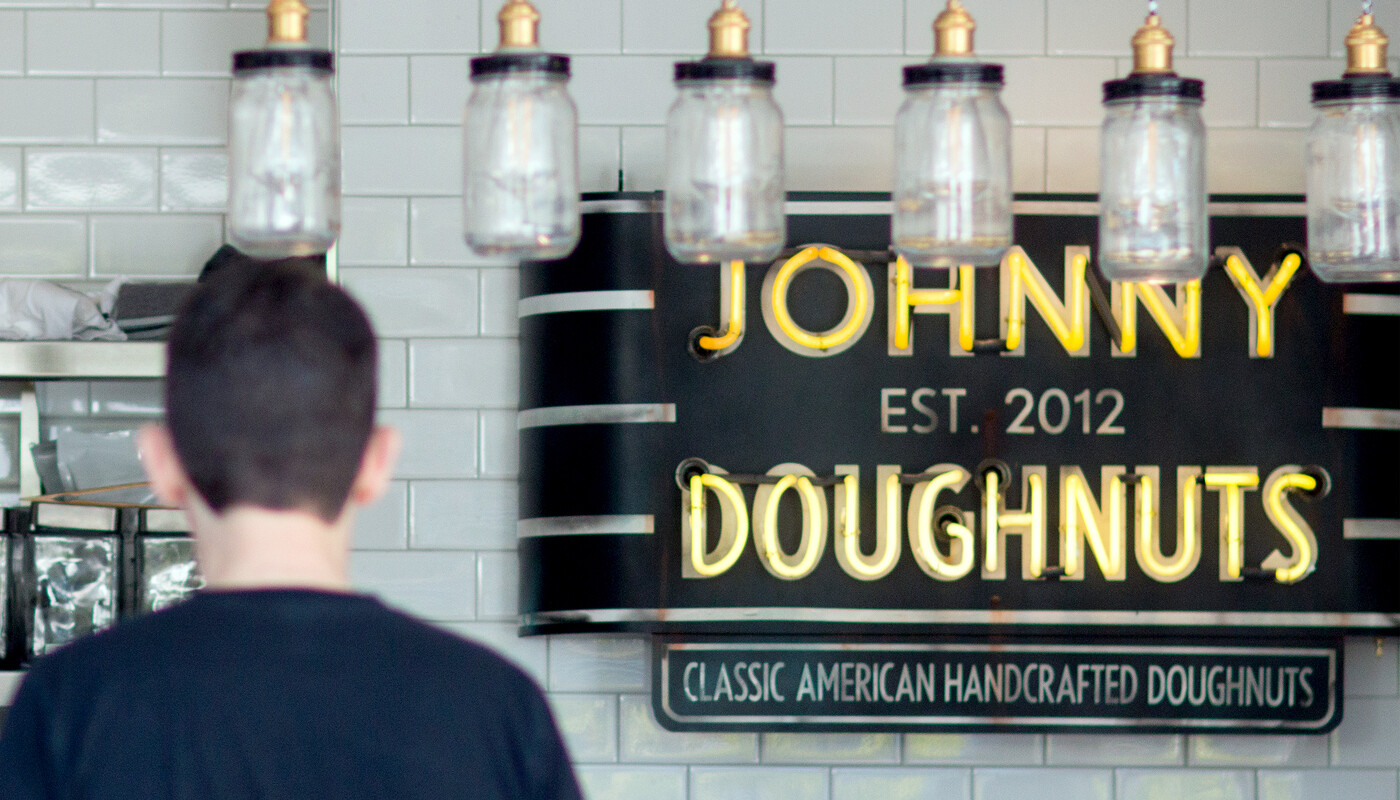 Johnny doughnuts branding identity quick serve restaurant6