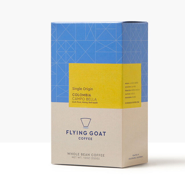 Flying goat coffee packaging design beverage brand identity4 sq crop