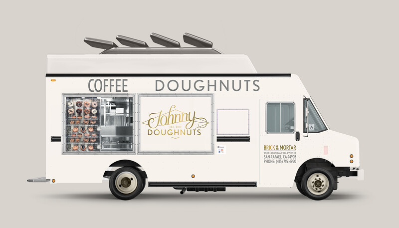 Johnny doughnuts branding identity quick serve restaurant29