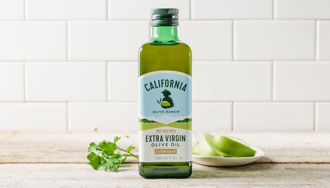 California olive oil branding packaging design 1