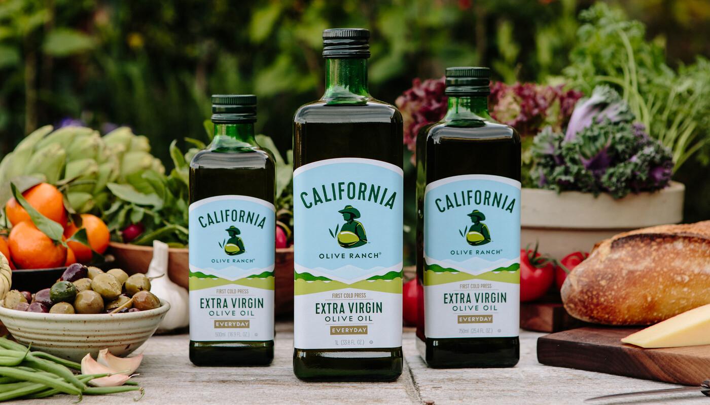 California olive oil branding packaging design 3
