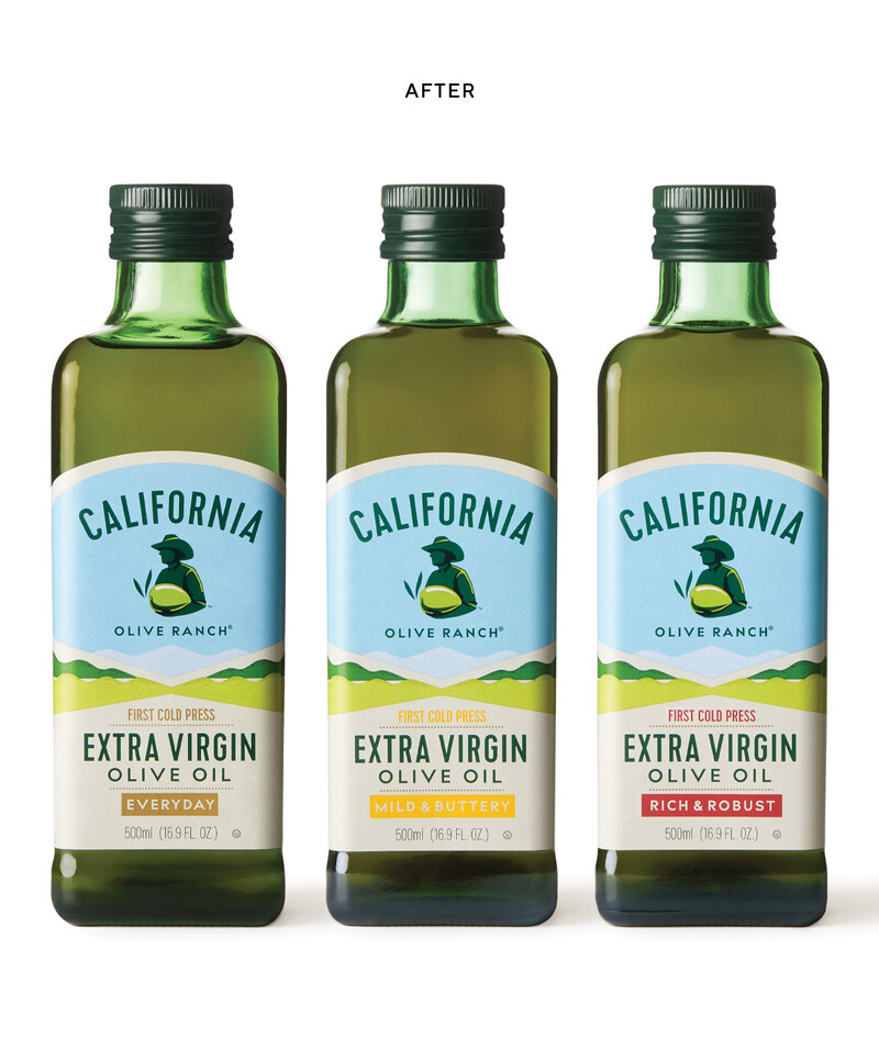 California olive oil branding packaging design 16