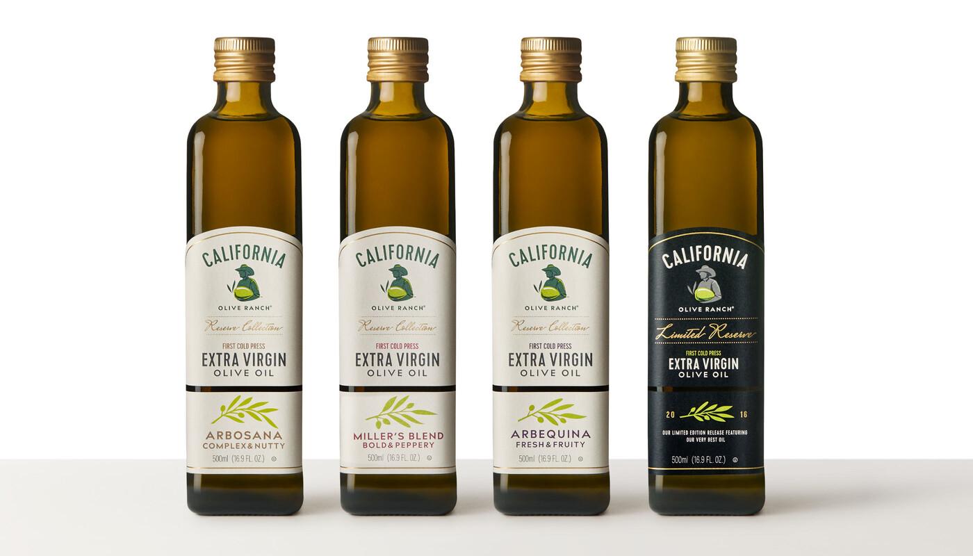 California olive oil branding packaging design 18