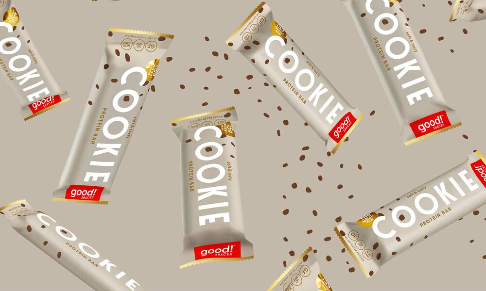 Good snacks protein bar brand identity packaging design2