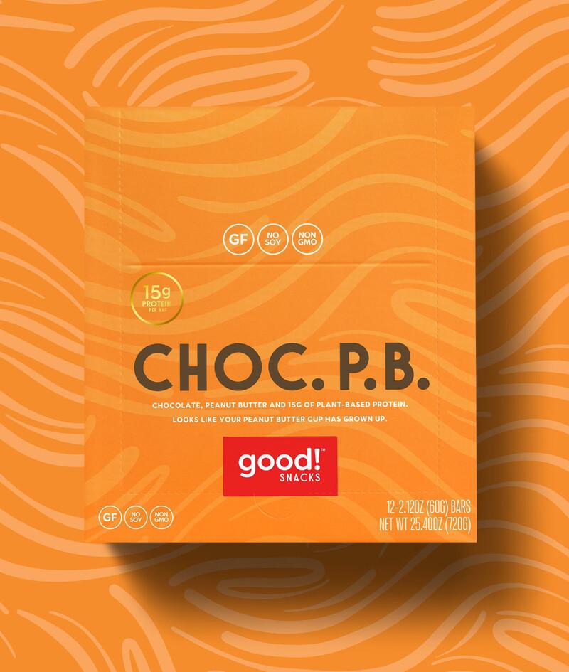 Good snacks protein bar brand identity packaging design8