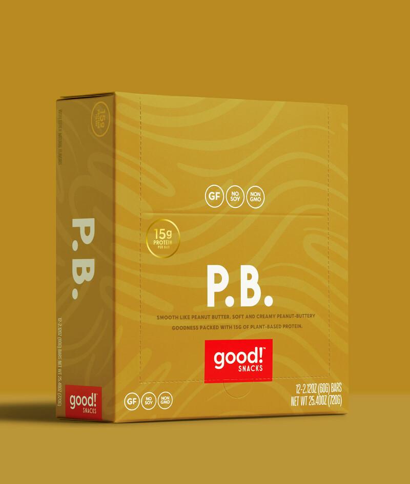 Good snacks protein bar brand identity packaging design10