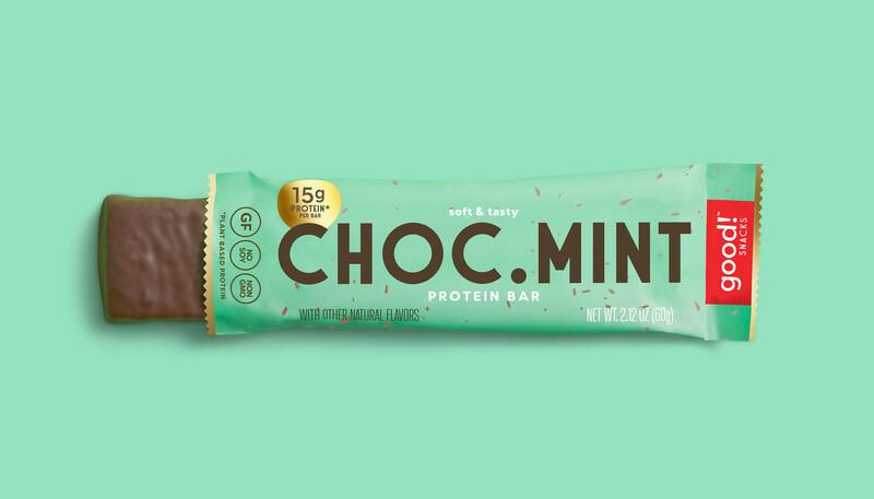 Good snacks protein bar brand identity packaging design11