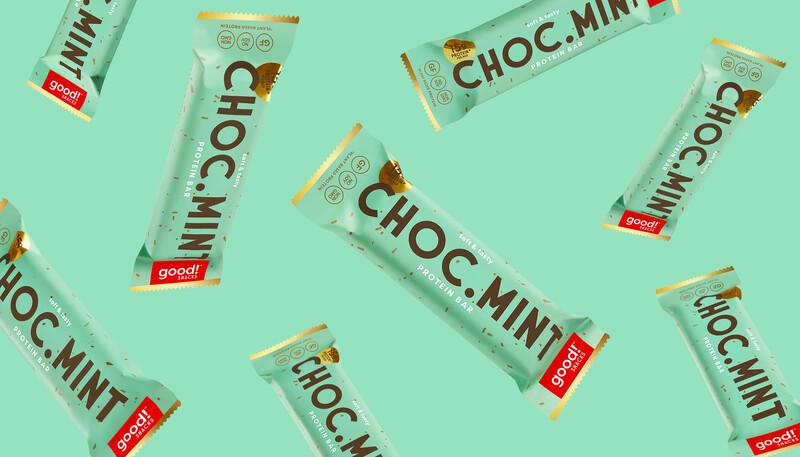 Good snacks protein bar brand identity packaging design7