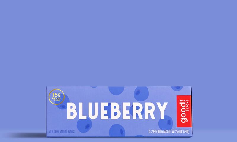 Good snacks protein bar brand identity packaging design15