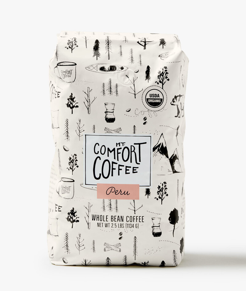 Mt comfort coffee branding packaging design10