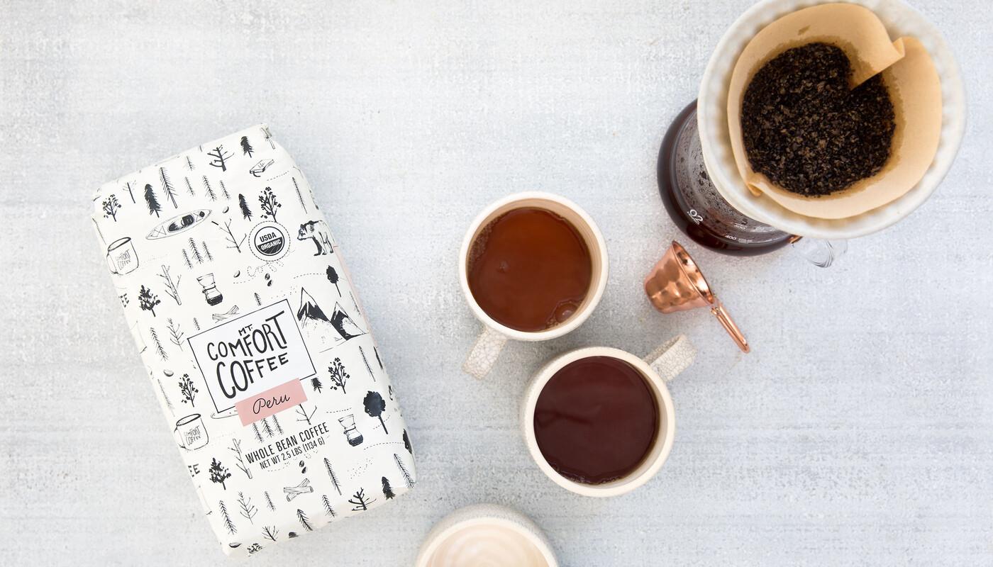 Mt comfort coffee branding packaging design19