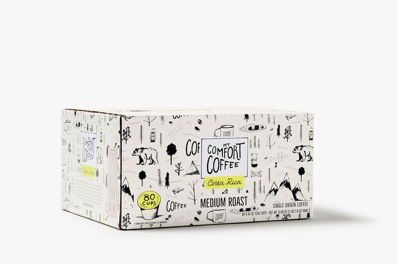 Mt comfort coffee branding packaging design17