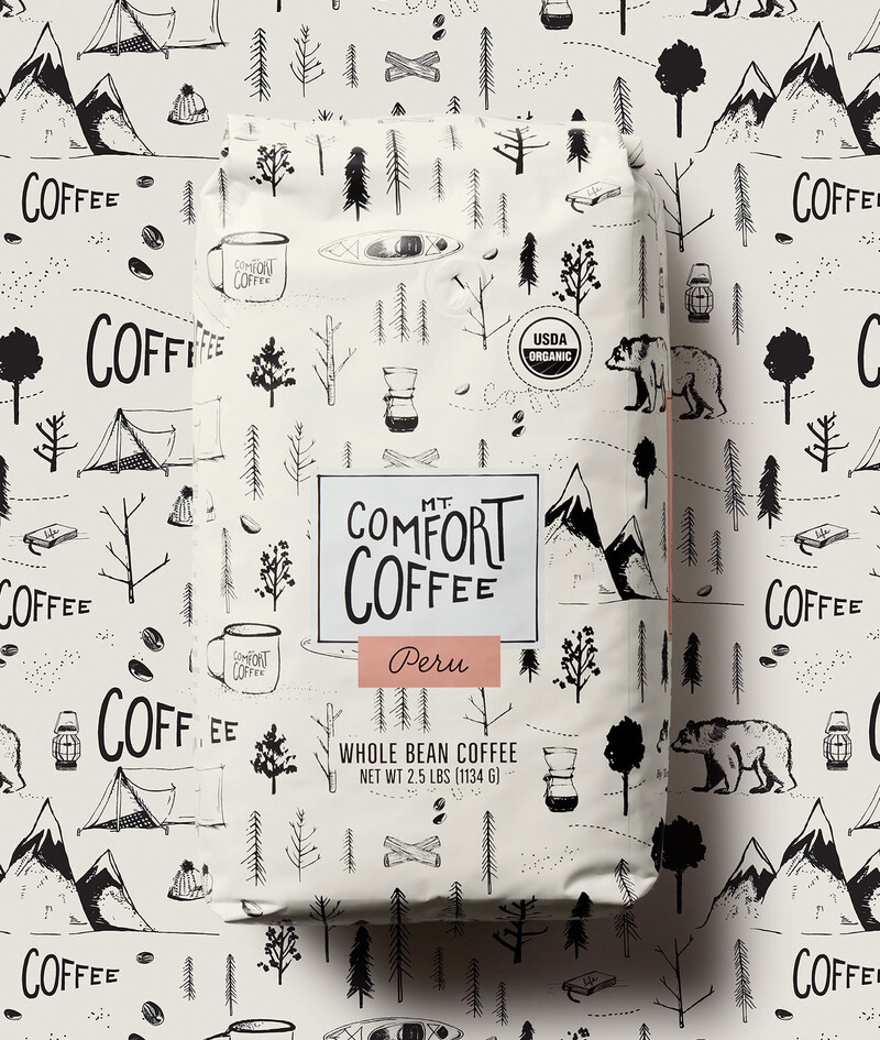 Mt comfort coffee branding packaging design18