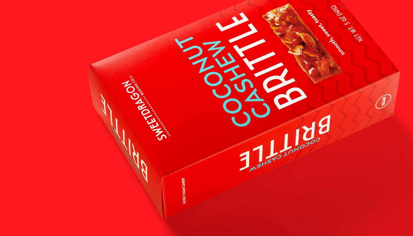 Sweet dragon baking candy packaging design branding1