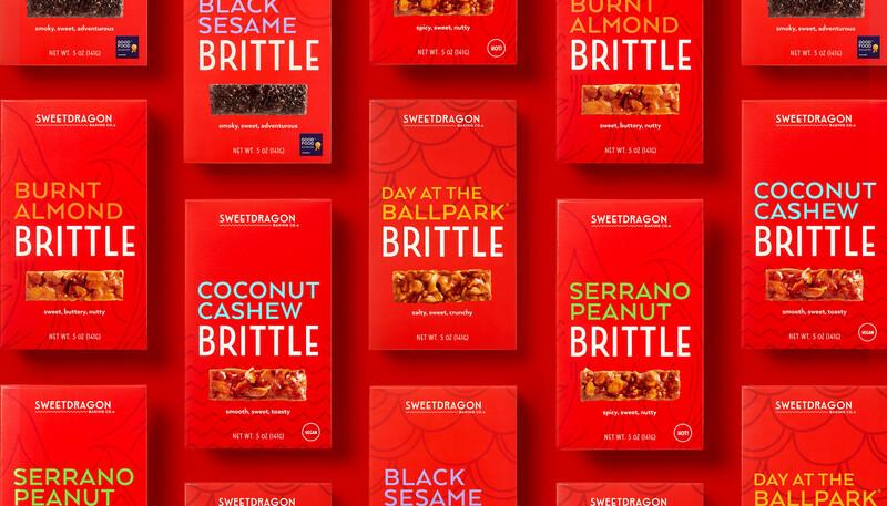 Sweet dragon baking candy packaging design branding10