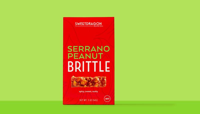 Sweet dragon baking candy packaging design branding11