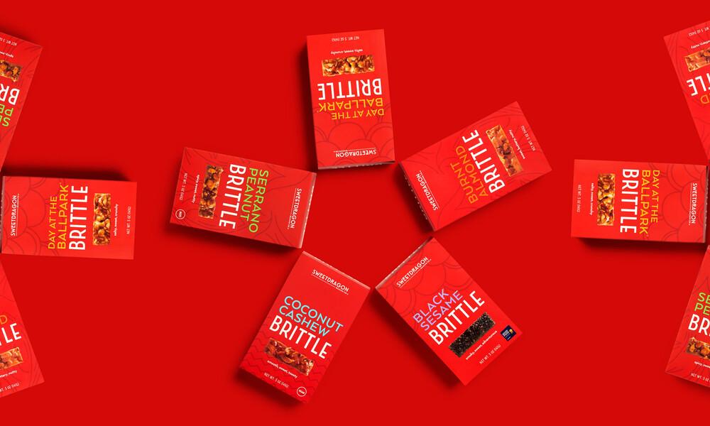 Sweet dragon baking candy packaging design branding12