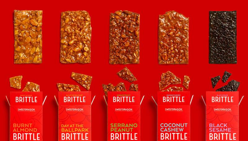 Sweet dragon baking candy packaging design branding14