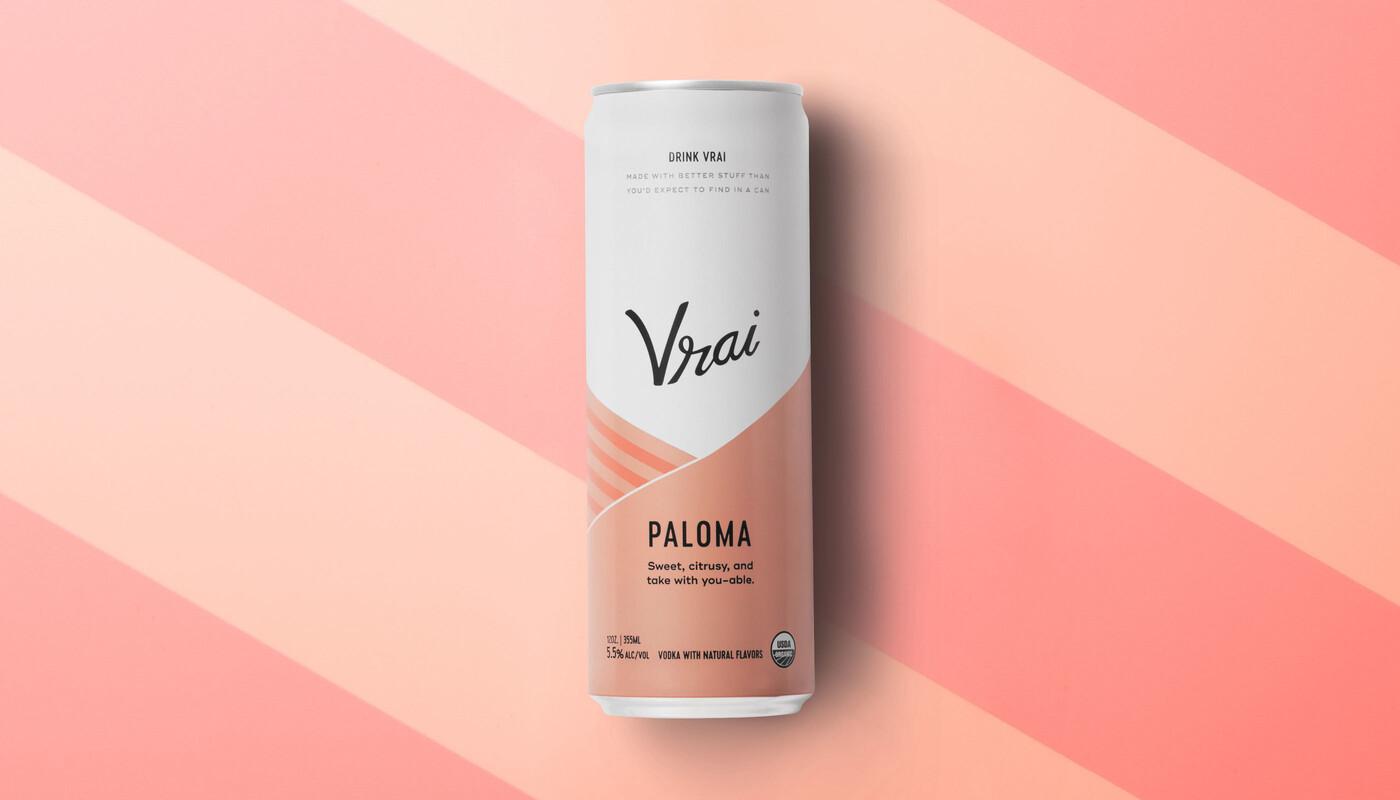 Vrai vodka cocktail spiritis packaging design branding2