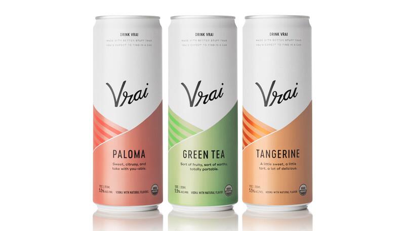 Vrai vodka cocktail spiritis packaging design branding4