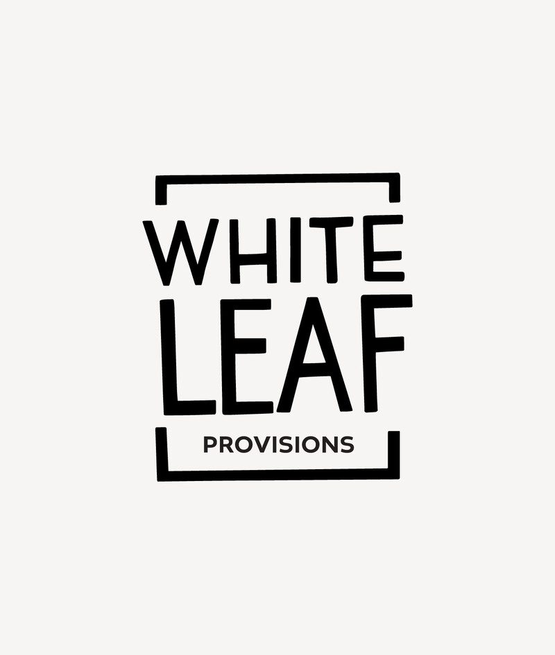 White leaf baby food packaging design brand identity14