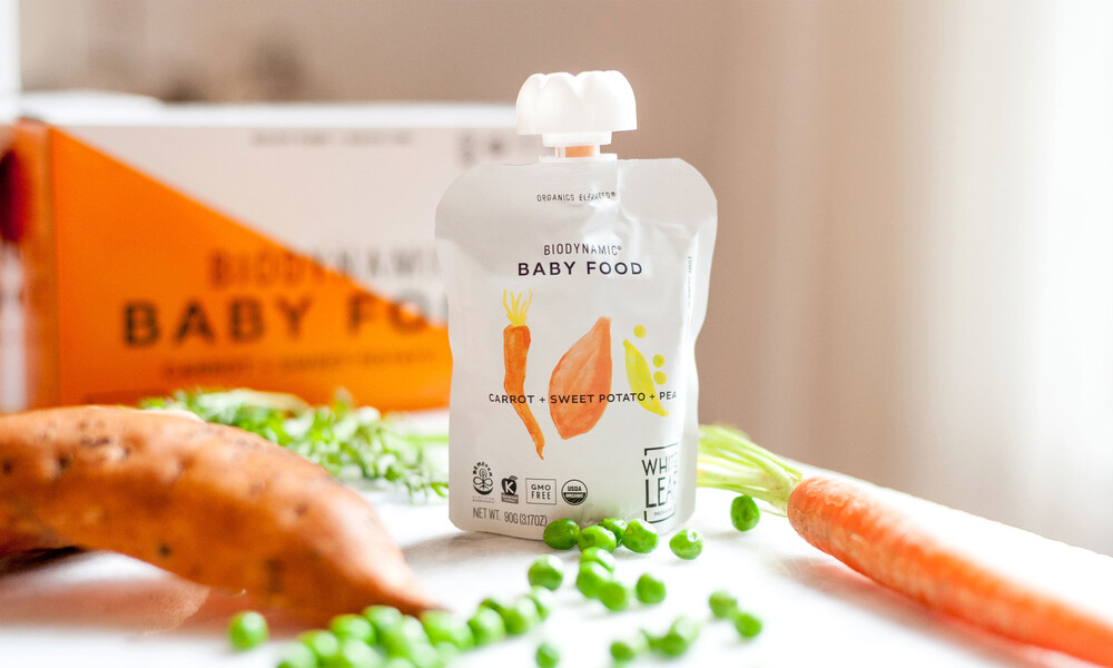 White leaf baby food packaging design brand identity18