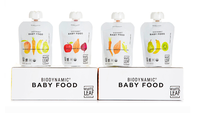 White leaf baby food packaging design brand identity21