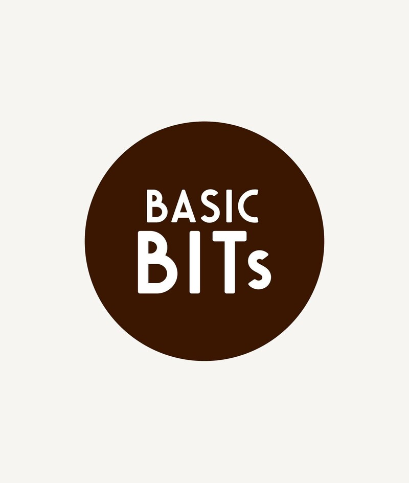 Basic bits snack ball brand identity food packaging design9