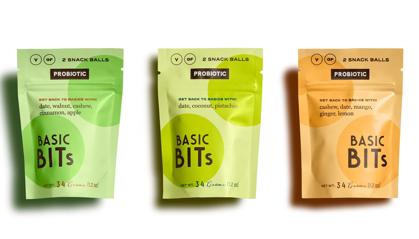Basic bits snack ball brand identity food packaging design16