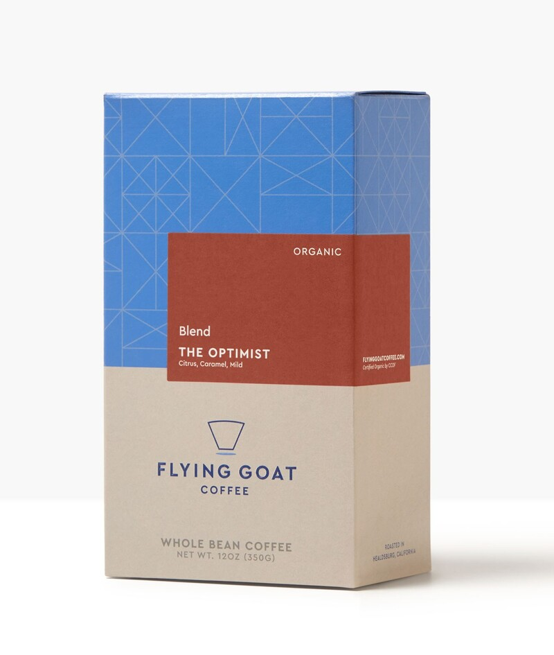 Flying goat coffee packaging design beverage brand identity8