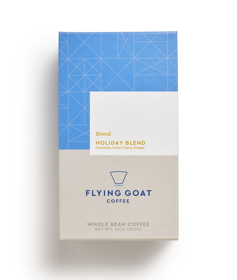Flying goat coffee packaging design beverage brand identity9