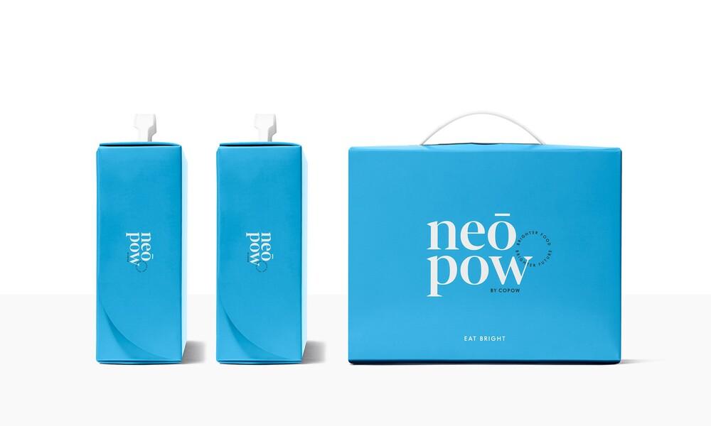 Copow meal delivery website branding packaging design 6
