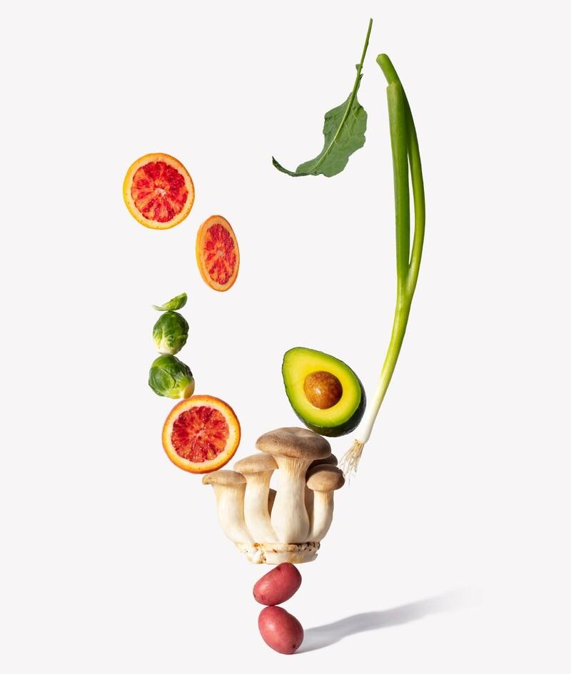 Copow meal delivery website branding packaging design 20